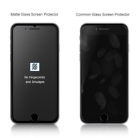 AMBM Matte iPhone 7 Plus Tempered Glass Screen Protector Anti-Fingerprint Anti-Glare Ultra thin Touch Smooth 9H 2 Pack