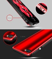 AMBM New Arrive For Apple iPhone 7/8 Case Shockproof Aluminum Metal Frame Armor Aluminum Metal Screw Frame Bumper Real Thin and Light For iPhone 7/8 4.7 inch Red RedBack